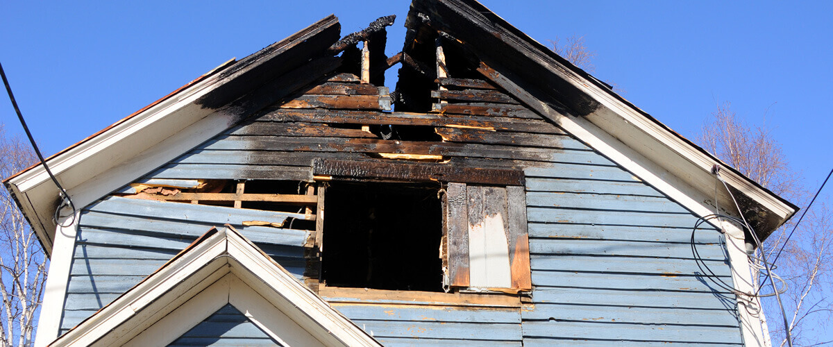 fire damage restoration